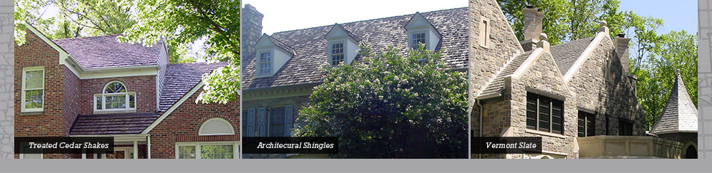 Treated Cedar Shakes - Architectural Shingles - Vermont Slate